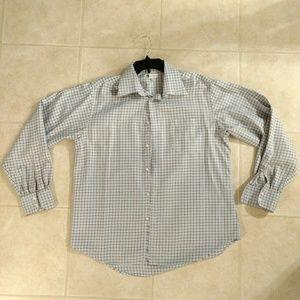 Men's Bachrach XL patterned dress shirt